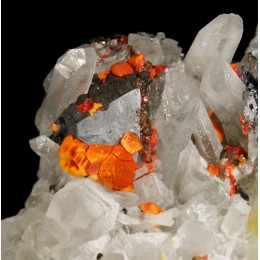 Galena, Realgar and Quartz M02590